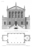 Plan and Elevation, Bagnio