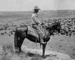 A Texas cowboy, 1907