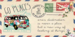 Go places bus air mail
