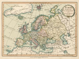 Historic Map of Europe
