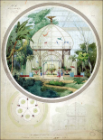 Aviary in a Winter Garden