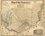 Map of San Francisco, 1852