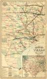 Grays railroad map of Texas.