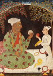 Portrait of Raja Dhiraj Pal of Basholi