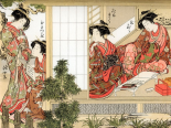 Japanese Beauties, 1776