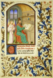 St. Matthew : Book of Hours - Detail