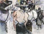 Elegantes Dans La Rue