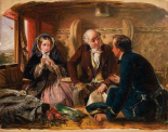 First Class - The Meeting, 1855