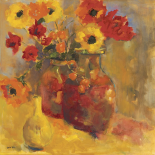Poppies In Jugs