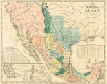 A map of the United States of Mexico : as organized and defined by the several acts of the Congress