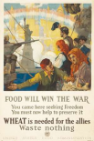 Food Will Win the War, 1917