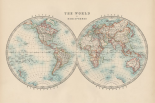 Johnstons World in Hemispheres
