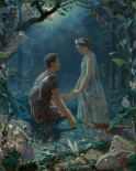 A Midsummer Nights Dream - Hermia and Lysander