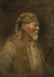 Portrait of a Pomo Chief