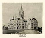 State Capitol, Hartford, Connecticut, 1893