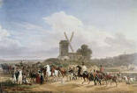 Troops Returning From Battle