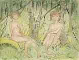 Two Women In The Forest
