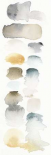 Watercolor Swatch Panel Neutral I