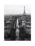 Eiffel from Etoile, 1956-58