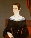Portrait of a Young Woman, Circa 1845