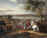 King Louis XIV of France Crossing The Rhine