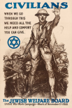 Civilians - The Jewish Welfare Board, 1918