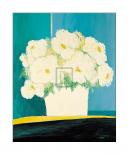Fleurs Blanches au Pot Blanc