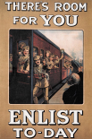 WWI: Theres Room for You: Enlist Today