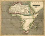 Thomsons Map of Africa