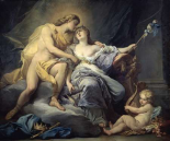 Apollo Caresses Leukothea