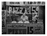 Hot Italian Pizza, NYC 1955