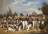 Company of the Second Legion, Paris