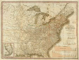 A Connected View of The Whole Internal Navigation of the United States, 1830