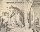 Elijah Revives the Son of the Widow of Zarephath