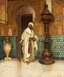 An Arab In a Palace Interior