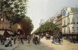 Le Boulevard Des Italiens, Paris
