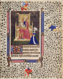 A Woman in Prayer before the Virgin and Child