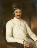 Portrait of Framji Nasserwanji Patel