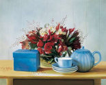 Stillife with teapot