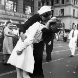 Kissing the War Goodbye in Times Square 1945