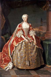 Portrait of Augusta, Princess of Wales