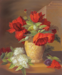 Vase with Flowers I