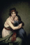 Madame Vigee Le Brun and Her Daughter