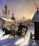 Troika on St. Petersburg Street
