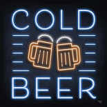 Neon Cold Beer