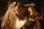 Ahimelech Giving the Sword of Goliath to David
