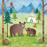 Woodland Family Bears