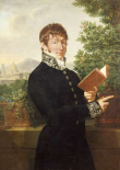 Portrait of An Official, Standing Above Florence