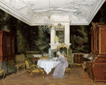A Lady In An Interior, Fredensborg