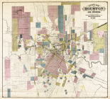 City of Houston and environs, 1895